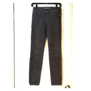 Joe's Jeans Grey Velvet Jeans: your new fall jeans
